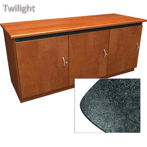 Middle Atlantic Contemporary-Style Finishing Kit for Deep Credenza Rack - Atlantic Credenza Middle