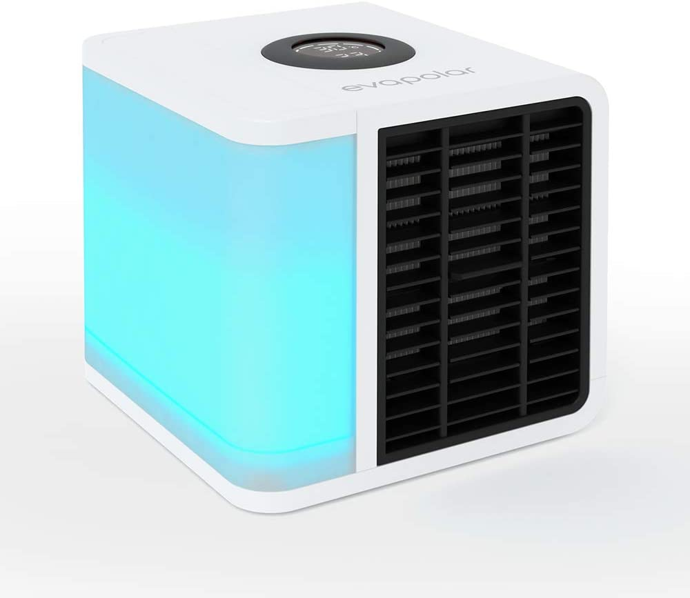 Evapolar EvaLIGHT Plus EV-1500 Personal Evaporative Air Cooler and Humidifier Portable Air Conditioner, White