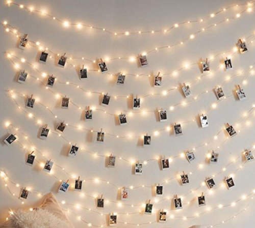 Originals Group FireFly Lights, 6 Feet - Craft clips & Batteries included! (hangit picture frame vintage, photo string, picture frame collage, picture frame charm, fairy lights, wedding ()