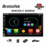 Headunit Car DVD Player with Navigation Universal In Dash Double Din Car Stereo 6.95