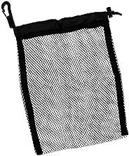 Seafard Drawstring Mesh Bag, Nylon Reusable Washable Scuba Diving Snorkeling Drawstring Pouch Storage Bags for