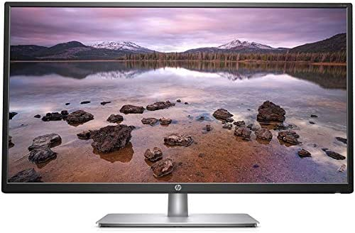 """HP 32"""" IPS LED FHD Monitor, FHD 1920 x 1080, 16:9 Aspect Ratio, Tilt Adjustment and Anti-Glare Panel, 178° Horizontal and Vertical Viewing Angles, 1 VGA, 1 HDMI, Black"""