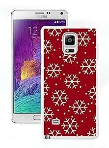 diy phone casePopular Sell Design Christmas Snowflake White Samsung Galaxy Note 4 Case 8diy phone case
