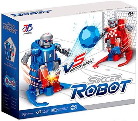 Amyove 2.4G RC Inalámbrico Robot con Base Entre Padres e Hijos Juguete eléctrico Inteligente Inteligente para niños: Amazon.es: Juguetes y juegos