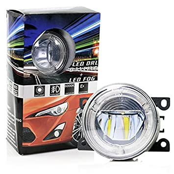 LED FOG Light with Angel Eyes Tagfahrlichtfunktion Citroen C4 C5