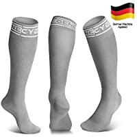 Compression Socks (20-30mmHg) for Men & Women, Travel, Flying, Sport. L/XL