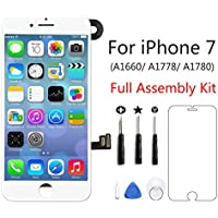 Screen Replacement for iPhone 7, Full Assembly LCD...