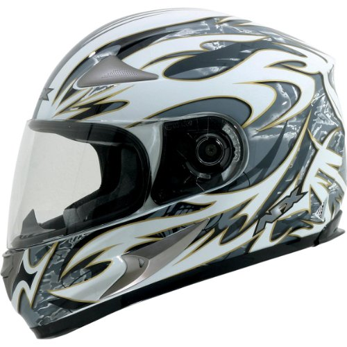 AFX FX-90 Species Full Face Helmet Pearl White XS/X-Small