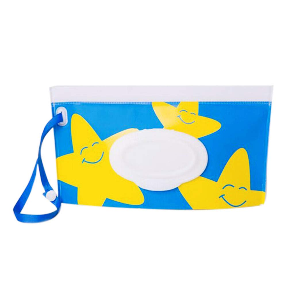 1 Pack Baby Wet Wipe Pouch Travel Wipes Case Refillable