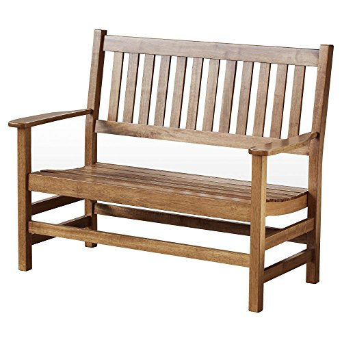 Hinkle Chair Company ...  sc 1 st  The Community Connection & Hinkle Chair Company Stained Plantation Porch Bench 4u0027 Maple | The ...