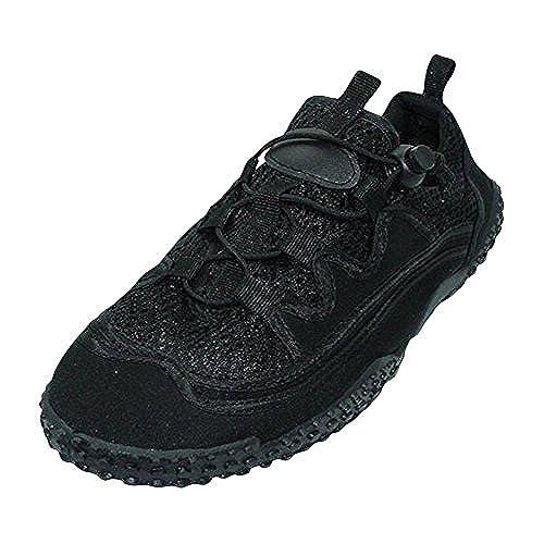 Easy Wear Women's Water Shoes-Black