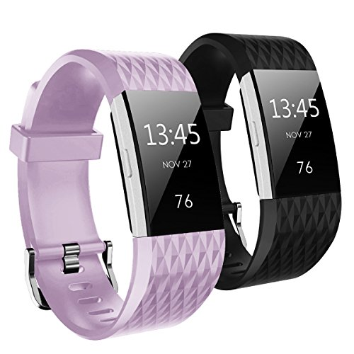 hanlesi-band-for-fitbit-charge-2-diamond-shaped-texture-soft-silicone-replacement-sport-strap-band-f