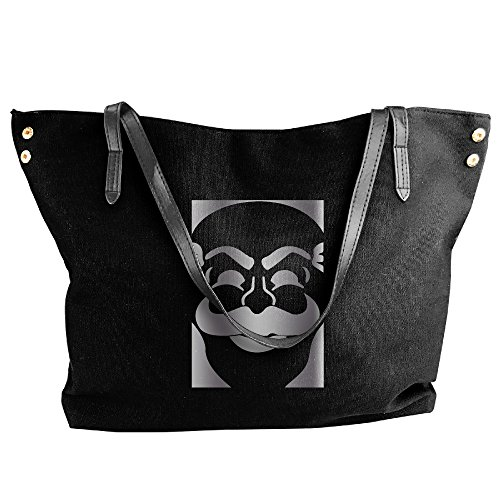 [Mr Robot Fsociety Logo Platinum Style Canvas Top Handle Handbags For Women] (Female Robot Costumes)