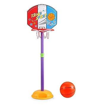 SUON Niño Canasta De Baloncesto Altura Ajustable 85-130cm Niños ...
