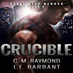 The Crucible: Steel City Heroes, Book 2 | LE Barbant,CM Raymond