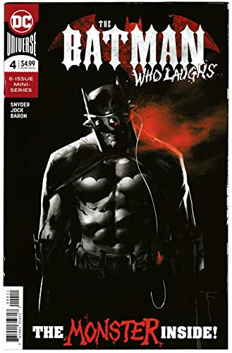 Batman Who Laughs #4 Main Cvr (DC, 2019) NM
