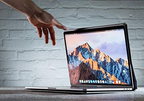 The Cartella Case Compatible with The MacBook Pro 15inch Laptop with Touch Bar Gray