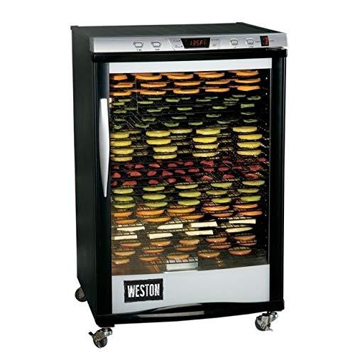 Weston 28-0501-W Food Dehydrator, 21.5' x 16', Silver