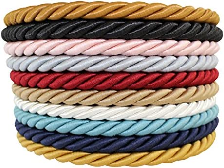 2mm White Mixed Nylon Rope Braided Cord Paracord Rope 300FT For DIY Bracelet