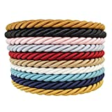 SGT KNOTS Twisted Craft Rope/Décor Trim Cord - 3/16, 1/4, 3/8, 1/2 - Several Colors (1/4 x 10') - Bronze