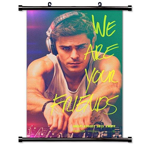 「We Are Your Friends」 ザックエフロン 映画スクロールポスター 布製 16x24インチ B014EDUIFU
