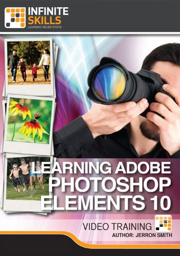 Adobe Photoshop Elements 10 for Windows and Mac [Online Code] by Infiniteskills