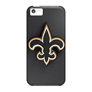 Iphone 5c Vry7969uSRQ Provide Private Custom HD New Orleans Saints Skin Shockproof Hard Phone Cases -DustinFrench