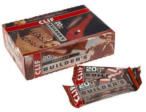 Clif Bar Builder Bar Chocolate 2.4 Oz by Clif Bar