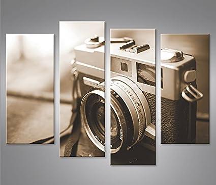 Quadro moderno cámara Vecchia cámara Come Sepia Leica de ...