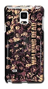 Tomhousomick Custom Design The Walking Dead Case for Samsung Galaxy Note 4 Phone Case Cover #93