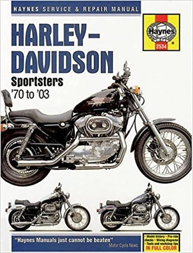 harley davidson sportsters 1970 2003 haynes manuals chilton