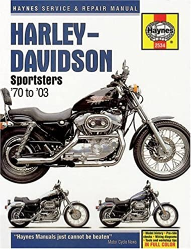 harley davidson sportsters 1970 2003 haynes manuals chilton rh amazon com Chilton Manuals PDF chilton motorcycle manual online free
