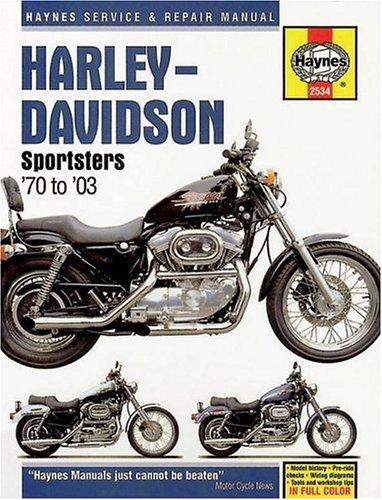 Harley Davidson Sportsters 1970-2003 (Haynes Manuals)
