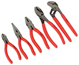 ATE Pro. USA 30245 Plier and Forged Set, 5 Piece