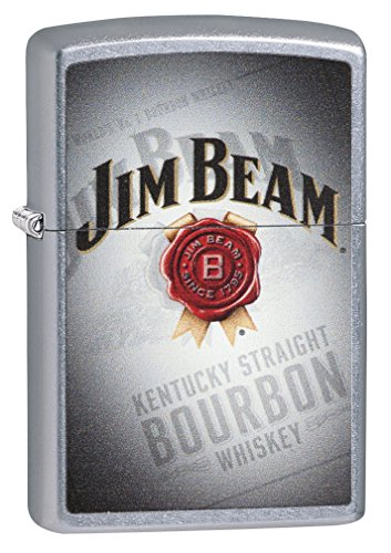 Zippo Jim Beam Kentucky Straight Bourbon Pocket Lighter (Zippo Jim Beam)