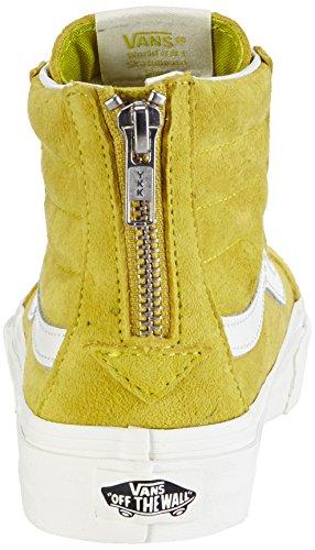 Varevogne U Sk8-hi Slim Zip Scotchgard, Unisex-erwachsene Sneakers Gelb (scotchgard) Sol)