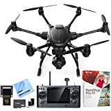 Yuneec Typhoon H RTF Hexacopter Drone w/ CGO3+ 4K Camera Video Recorder Bundle includes Drone, 16GB Flash Drive, 64GB microSD Memory Card, Cleaning Kit, Corel Paint Shop Pro X9 and Beach Camera Cloth For Sale