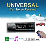 Ezonetronics Single Din Car AM/FM and MP3 Stereo Radio Receiver Aux Input with USB Port and SD Card Slot Support Remote Control LC6219