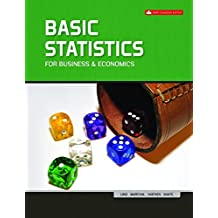 Basic Statistics for Business & Economics with Connect with SmartBook COMBO