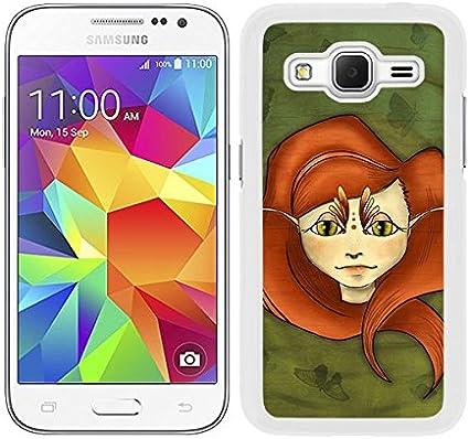Coque etui housse rigide pour Samsung Galaxy Core Prime dessin fée ...