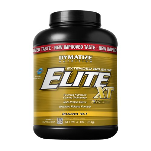 Dymatize Elite XT Dietary Supplement, Banana Nut, 4 Pound (Pack of 6)