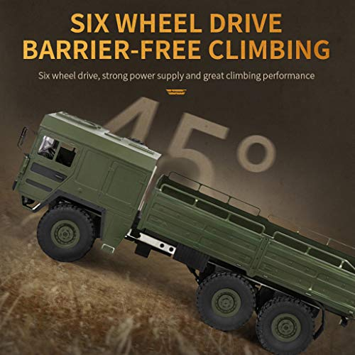 RC Military Truck Army Off-Road Car Q64 1:16 6WD 2