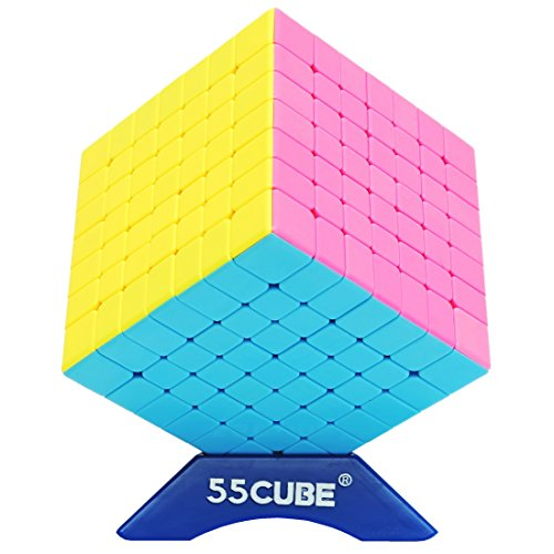55cube 7x7 Cube Stickerless, New Structure - More Smoothly Than Original 7x7 Cube By