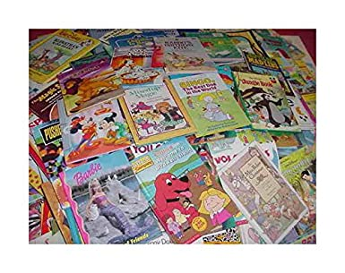 Lot Of 100 Golden Scholastic Learn To Read Mix Set Kids Children Books