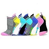 Teehee Women Cushioned Low Cut Socks 6-Pair Pack