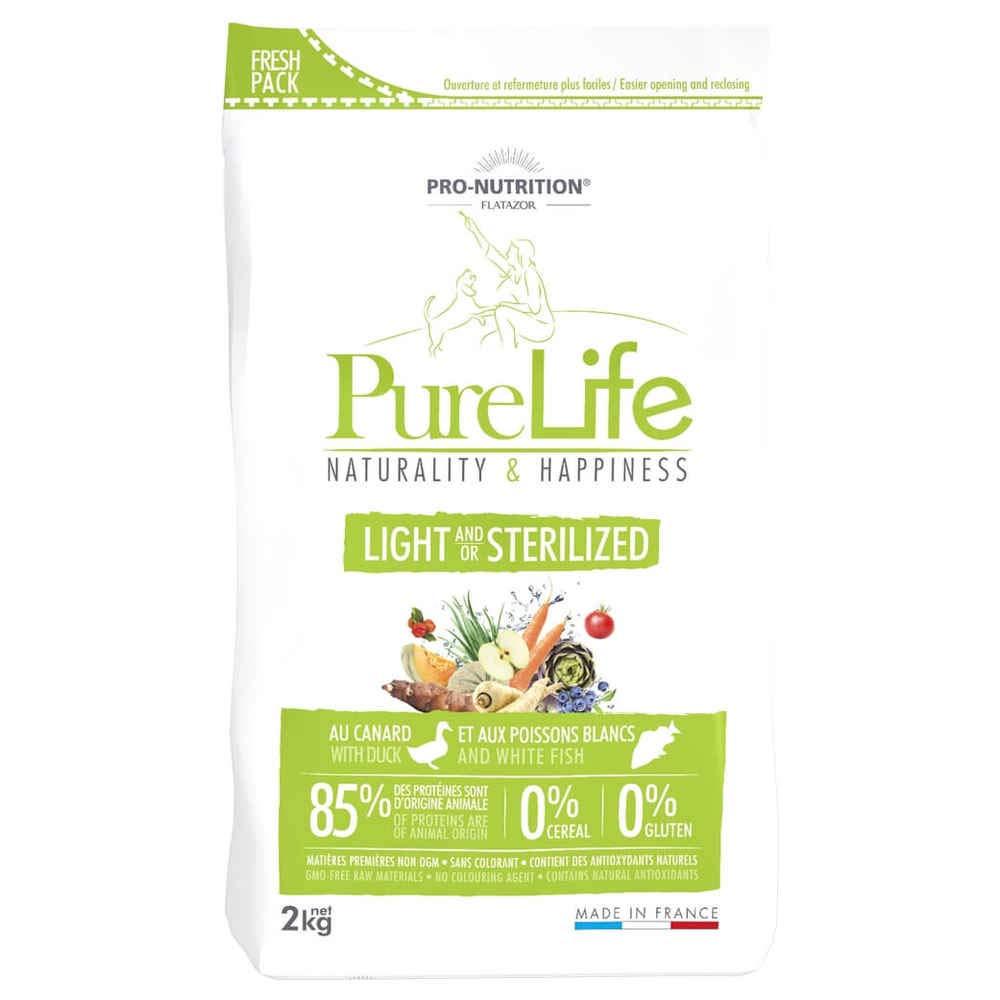 Pro nutrition Flatazor - Pure Life Light Stérilisé 2kgs