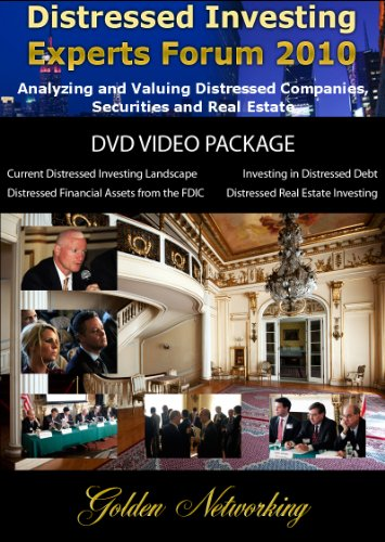 Distressed Investing Experts Forum 2010 DVD Video Package