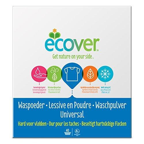 Ecover Universal Waschpulver Konzentrat Lavendel, 1er Pack (1 x 40 Waschladungen) by Ecover