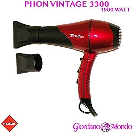 Secador profesional Muster secador 1900 W Vantage Peluquería