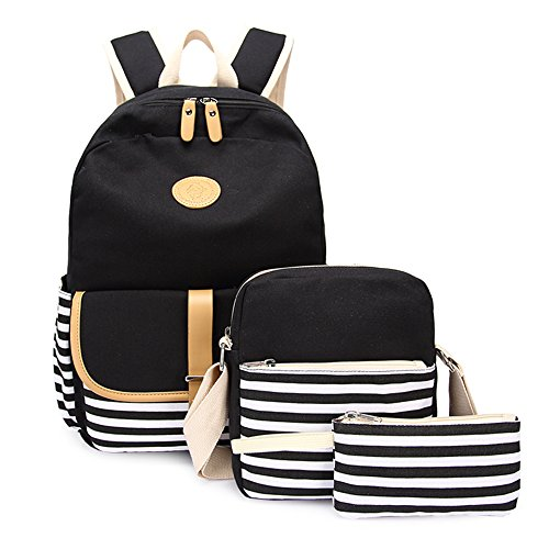Apparel Backpacks Bags - Lightweight Canvas Backpack Fashion School Bag Outdoor Travel Laptop Backpacks